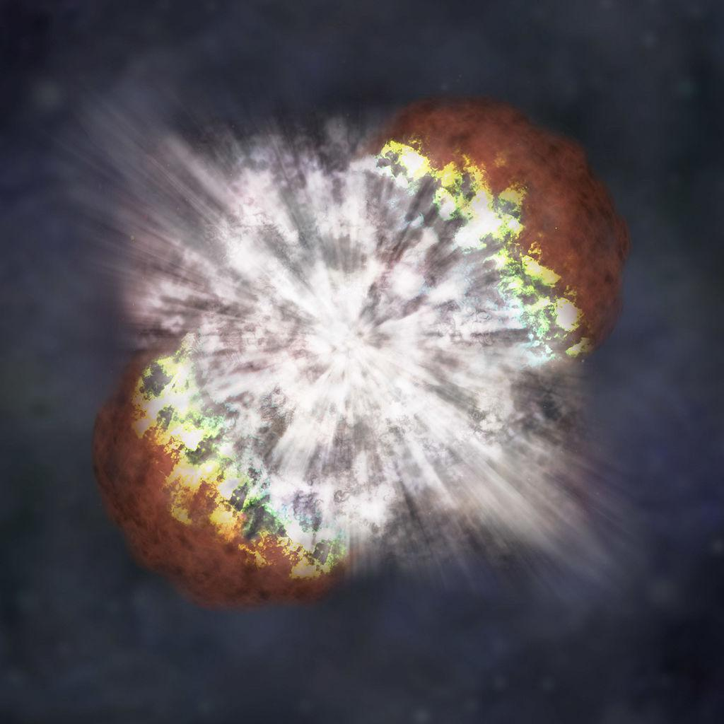 Обнаружена самая далекая гиперновая