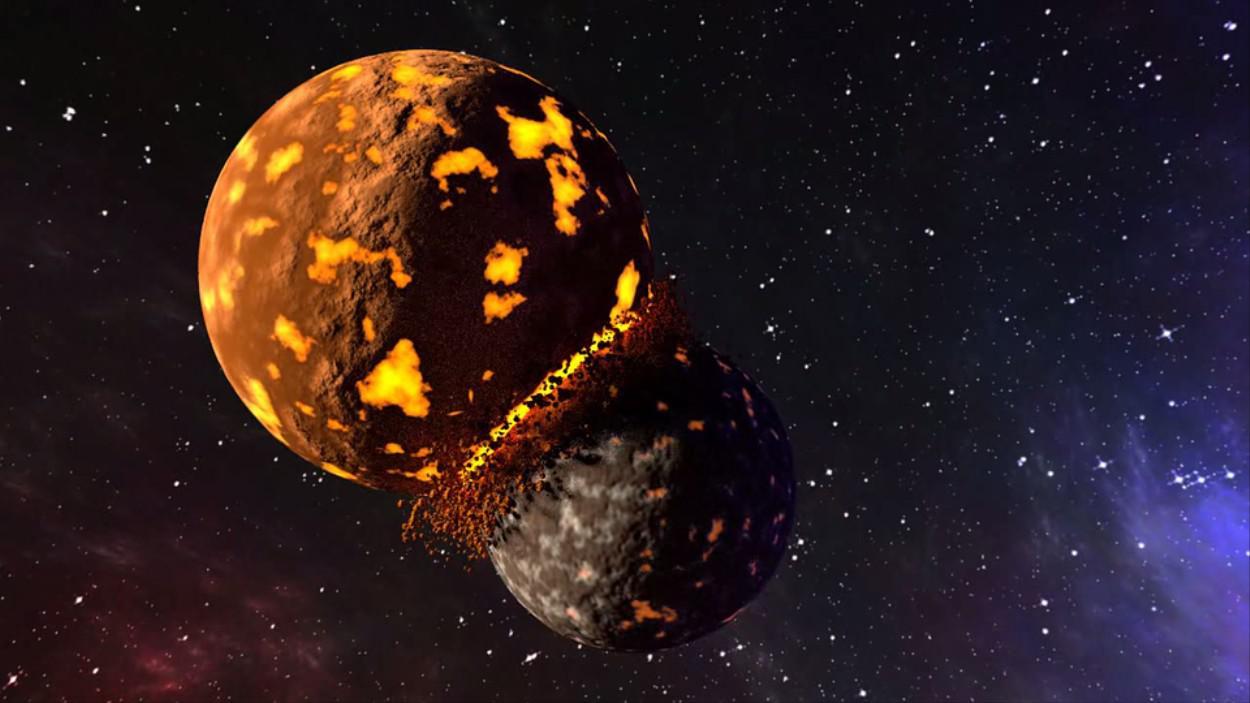 Алмазы в метеорите рассказали историю погибшей планеты
