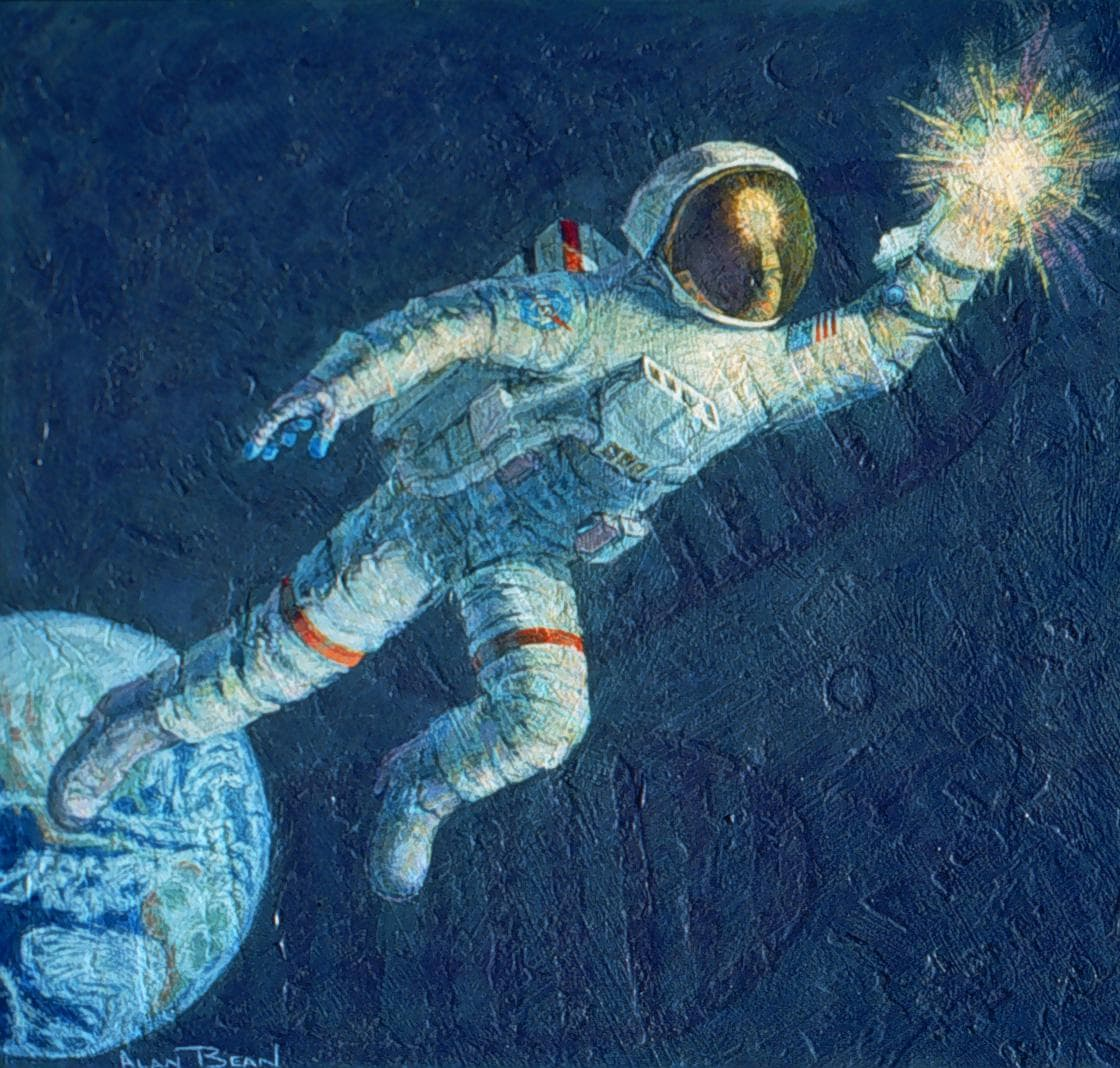 astronaut reaching for the stars - 730×696