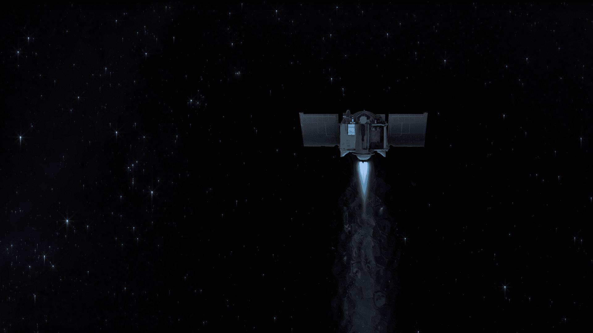 OSIRIS-REx залишив астероїд Бенну