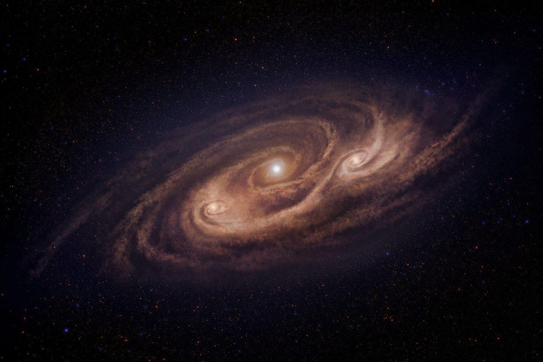 два наша галактика во вселенной фото теле как определить