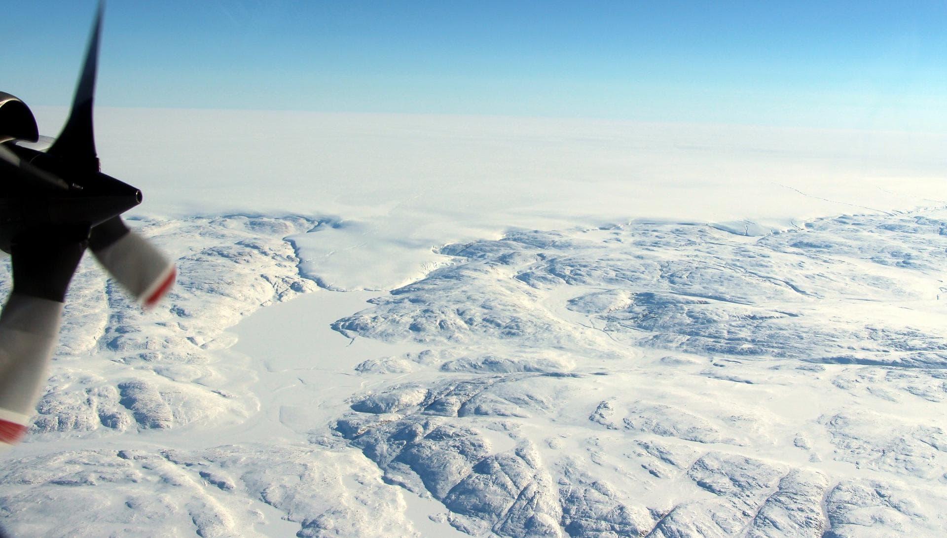 В Гренландии найден 31-километровый кратер