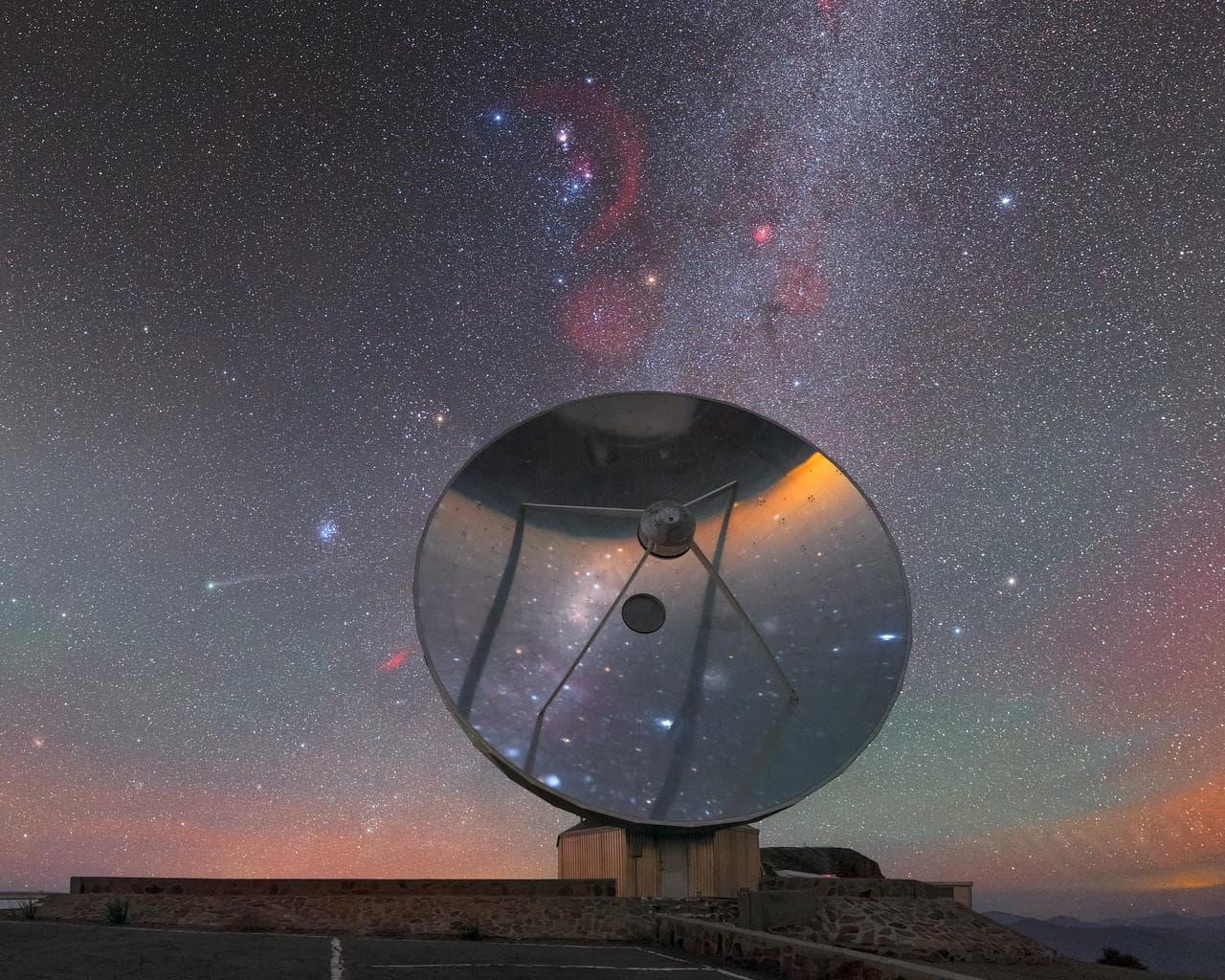 Фото дня: маленький одинокий телескоп