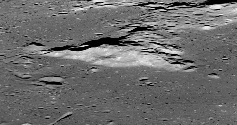 Гора Мэрилин глазами аппарата LRO