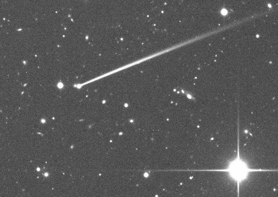 Астрономы обнаружили хвост у астероида
