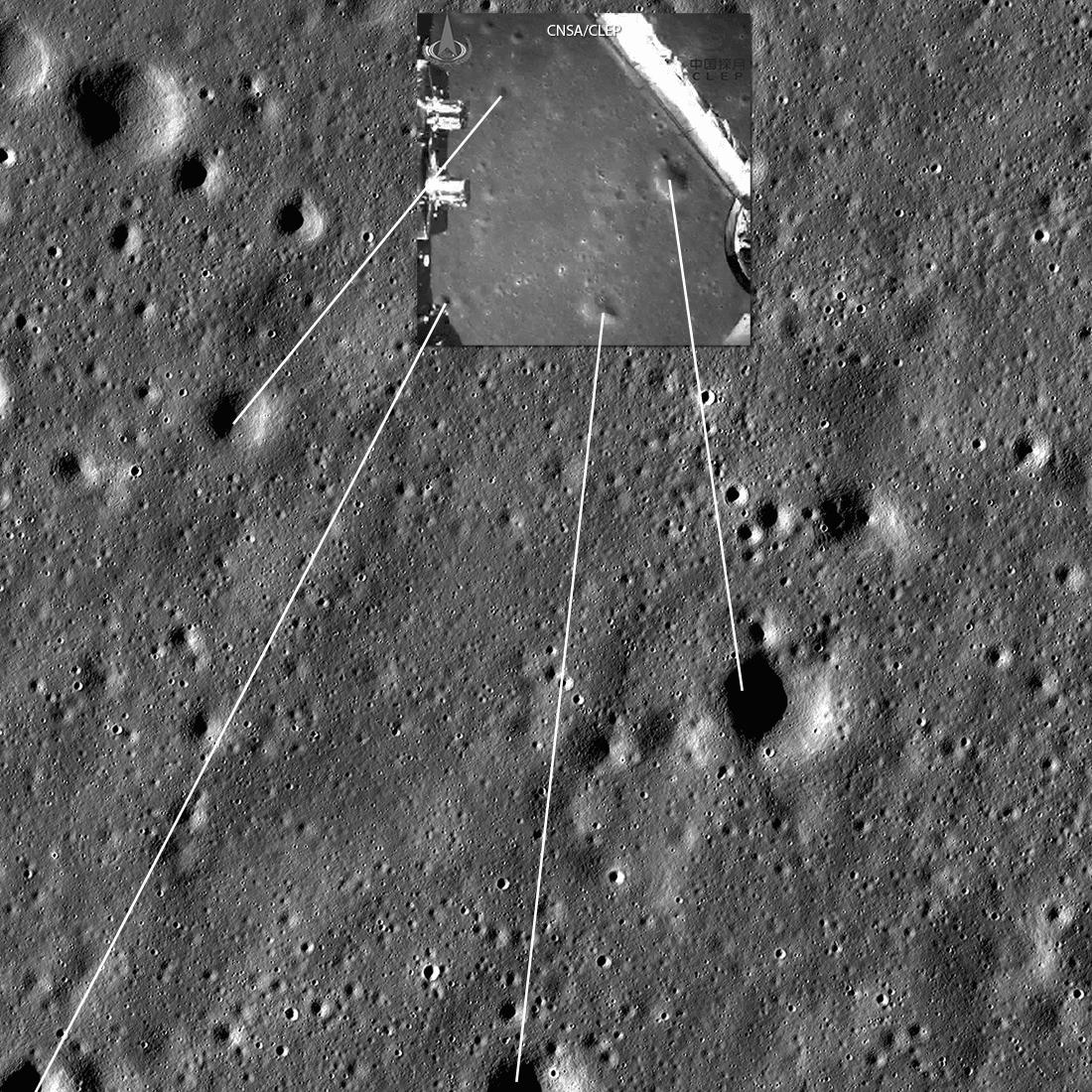 Луноход фото на луне место посадки