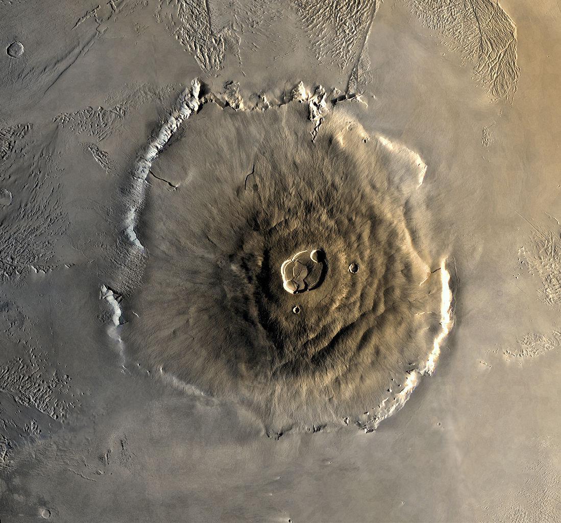 Вчені знайшли сліди недавньої вулканічної активності на Марсі