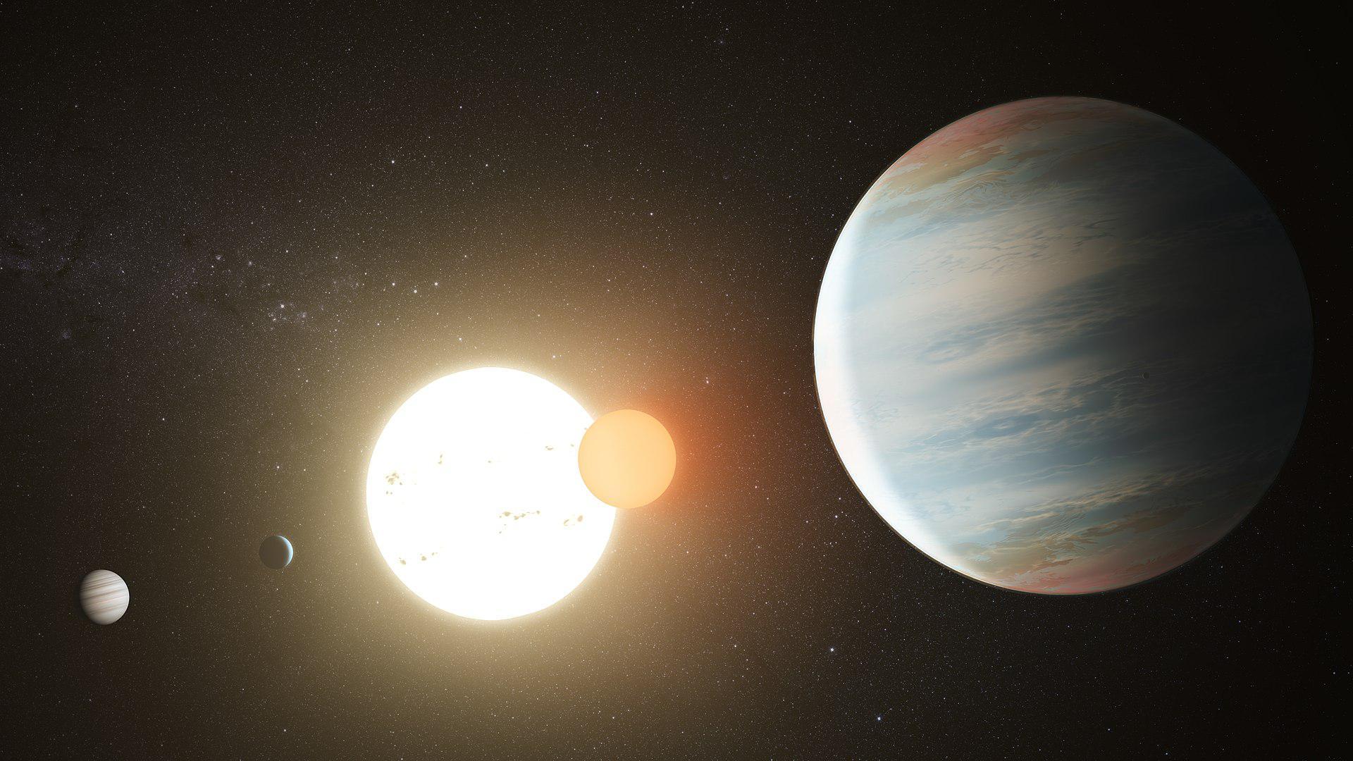 сегодняшний фото экзопланеты с кеплера формировался
