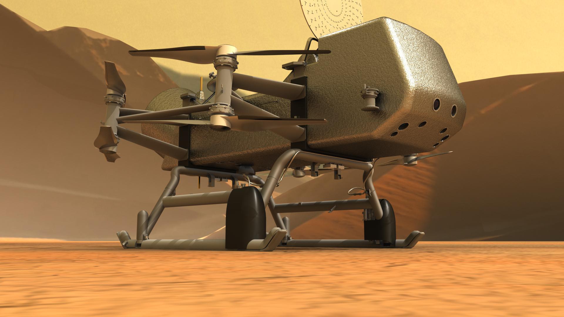 Запуск Dragonfly отложен на год