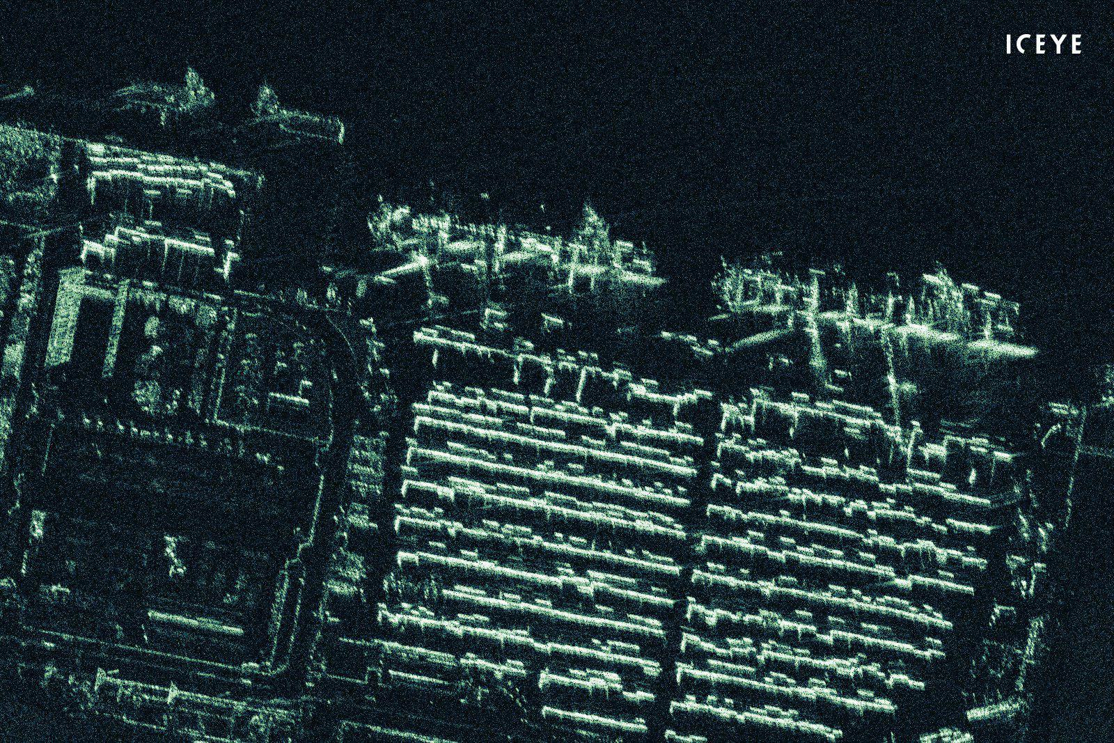 ICEYE показала радарные изображения земной поверхности с разрешением менее 1 м