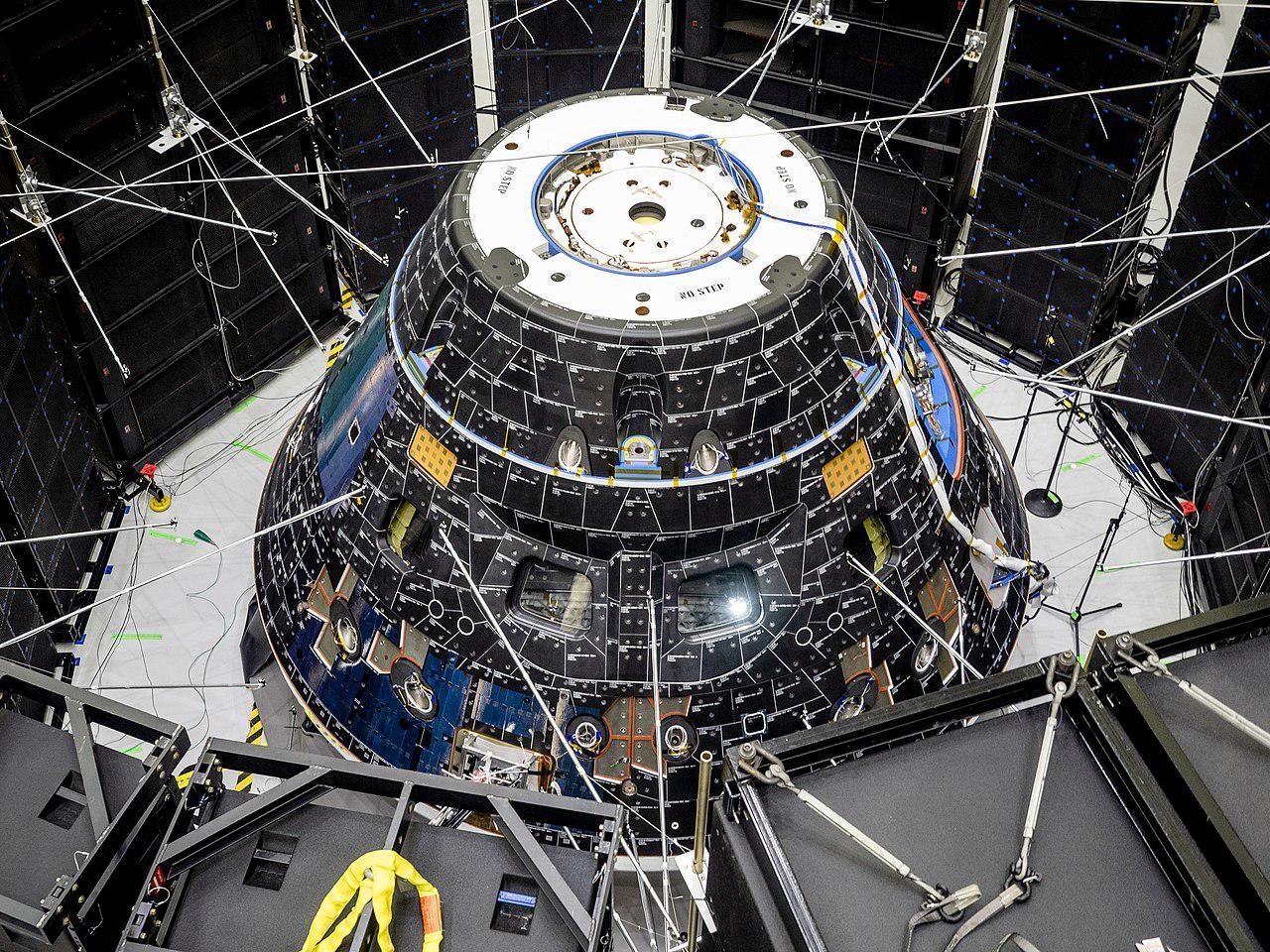 Orion пройдет серию тестов в вакуумной камере