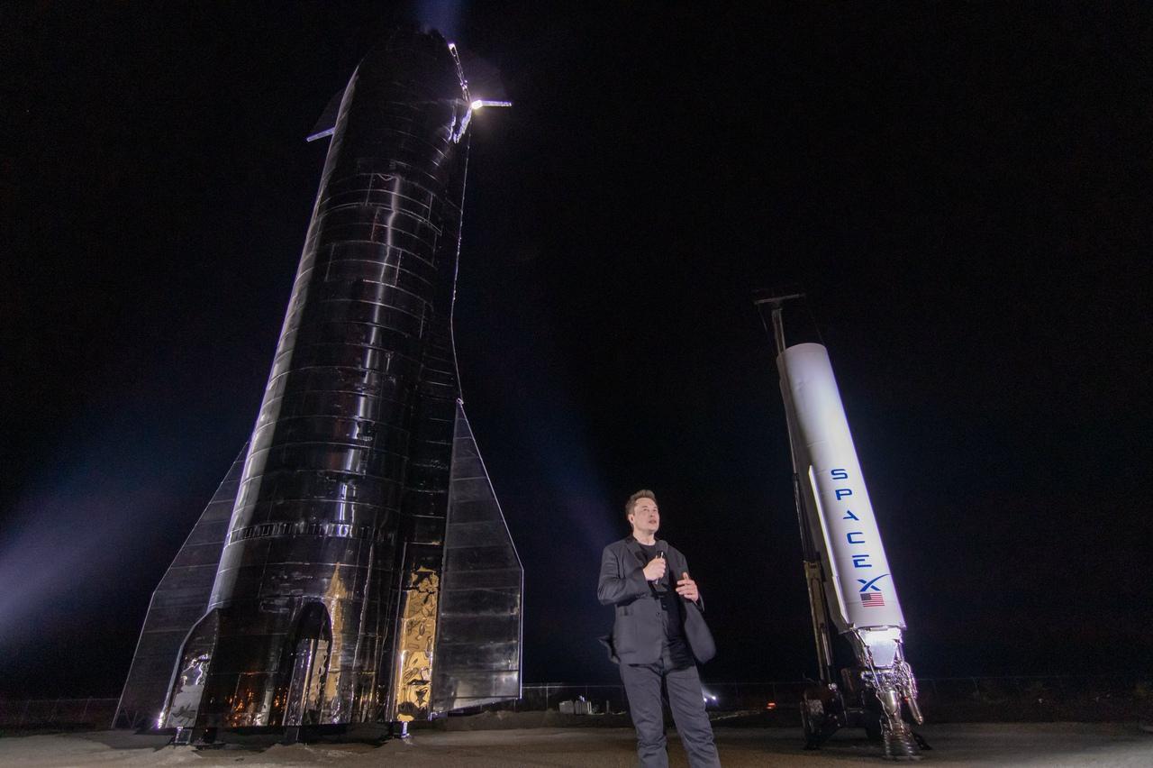 презентация Маском своей марсианской ракеты