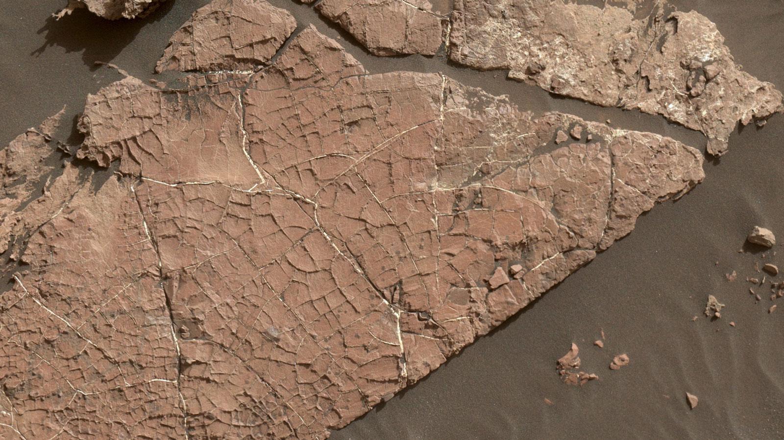 Curiosity заглянул в прошлое озера на дне кратера Гейла