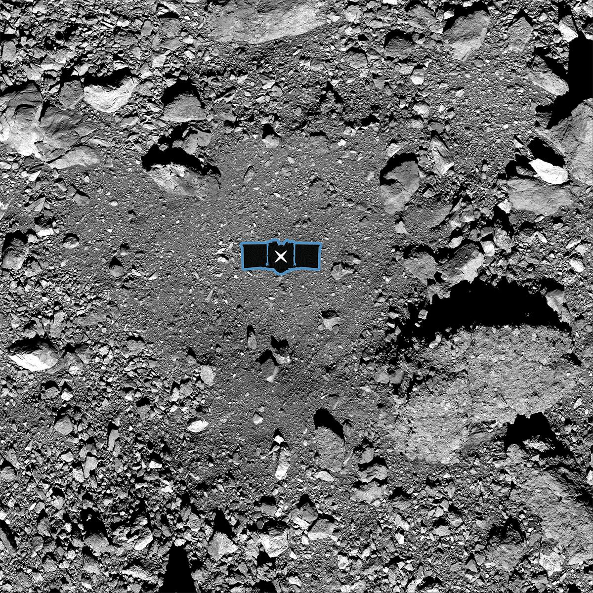 NASA выбрала место для взятия вещества астероида Бенну
