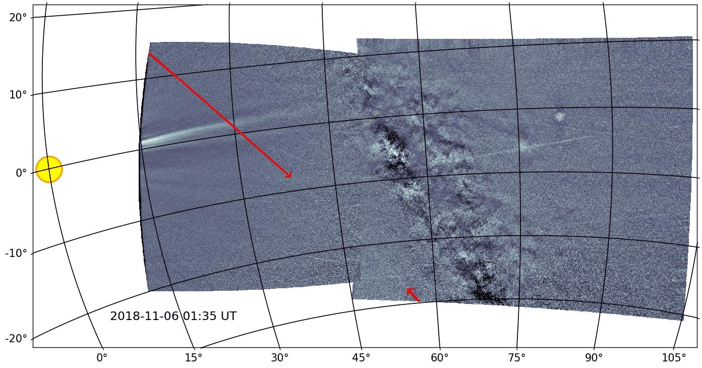 PSP подтвердил существование хвоста у астероида Фаэтон