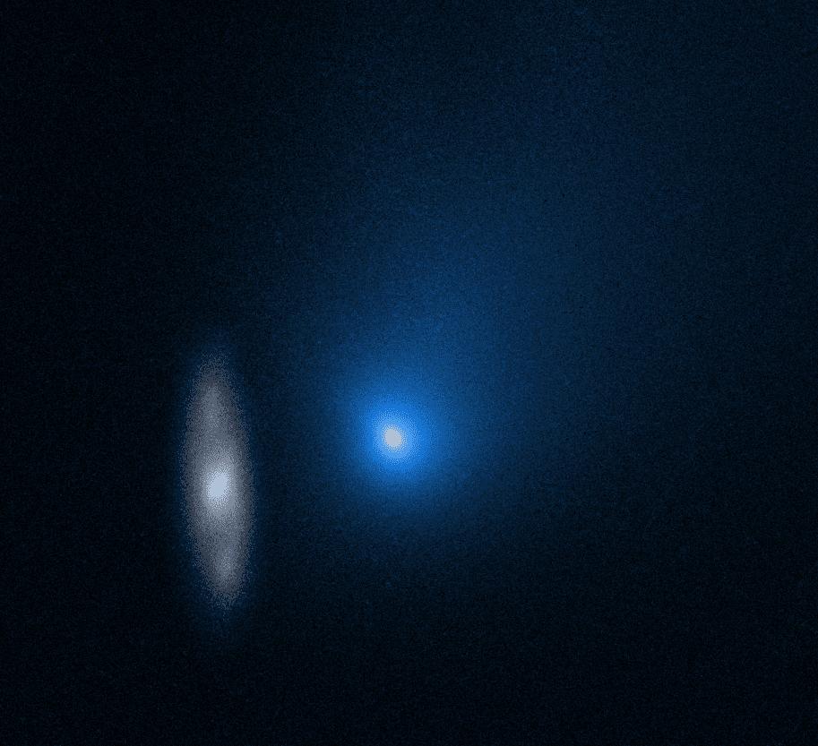 Hubble сделал новый снимок межзвездной кометы Борисова