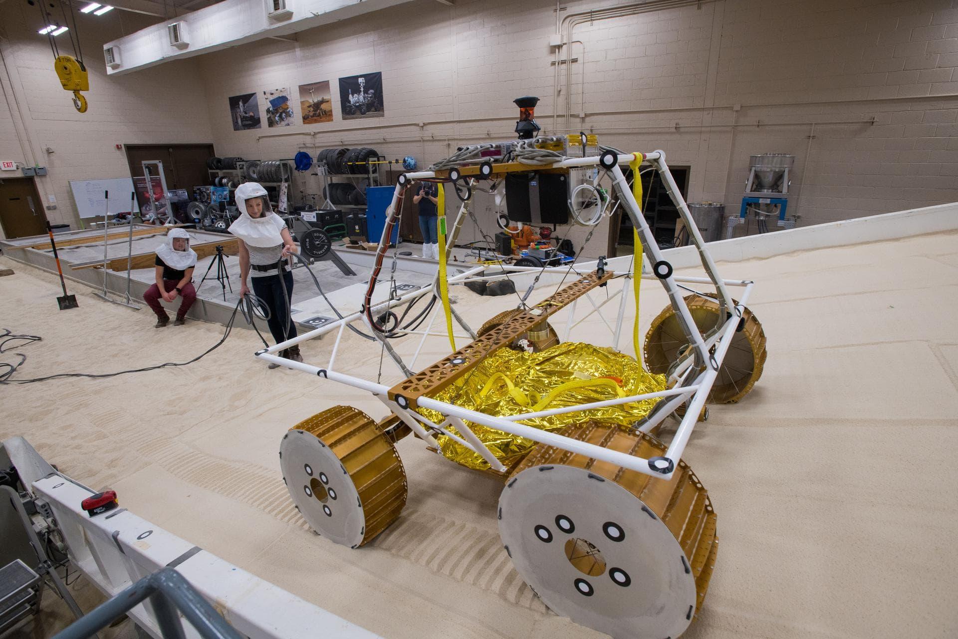NASA протестировала прототип лунохода VIPER