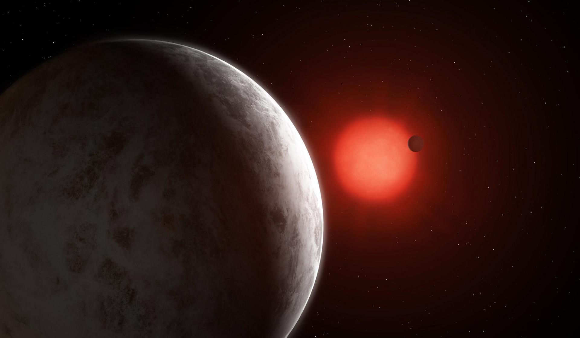 У близкого красного карлика найдена «суперземля»