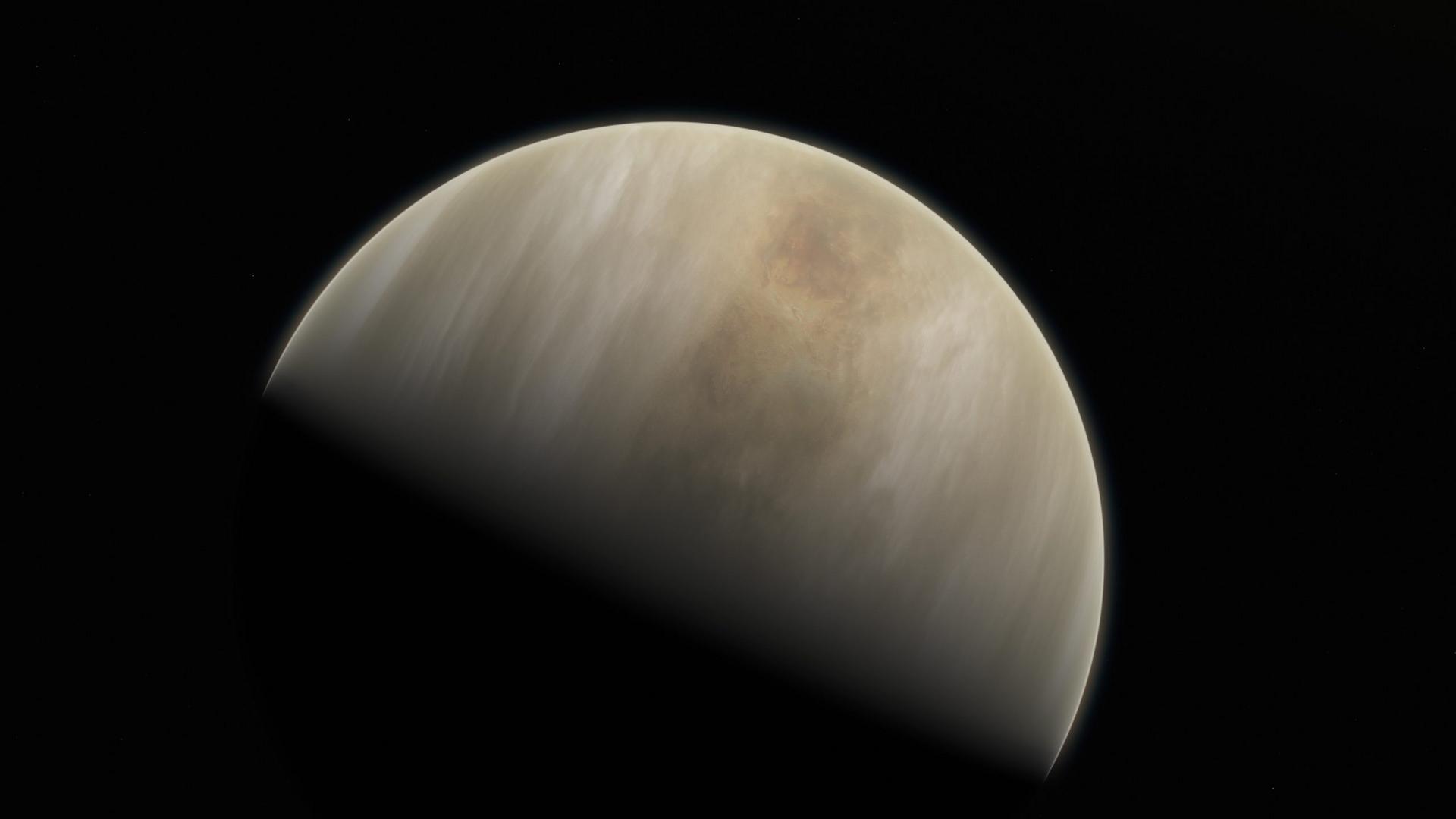PSP исследовал радиоизлучение атмосферы Венеры