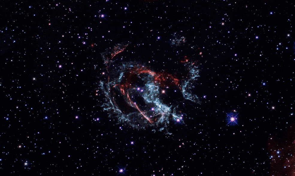 Hubble помог уточнить возраст сверхновой в ММО