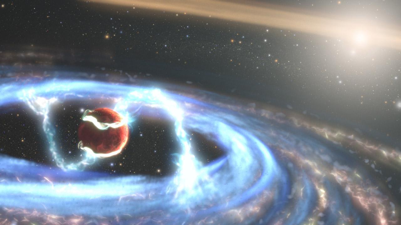 Hubble виміряв швидкість зростання екзопланети