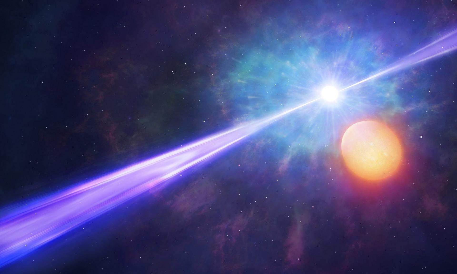 TESS обнаружил гамма-всплеск