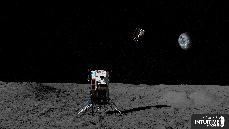 Intuitive Machines построит прыгающего робота для изучения Луны