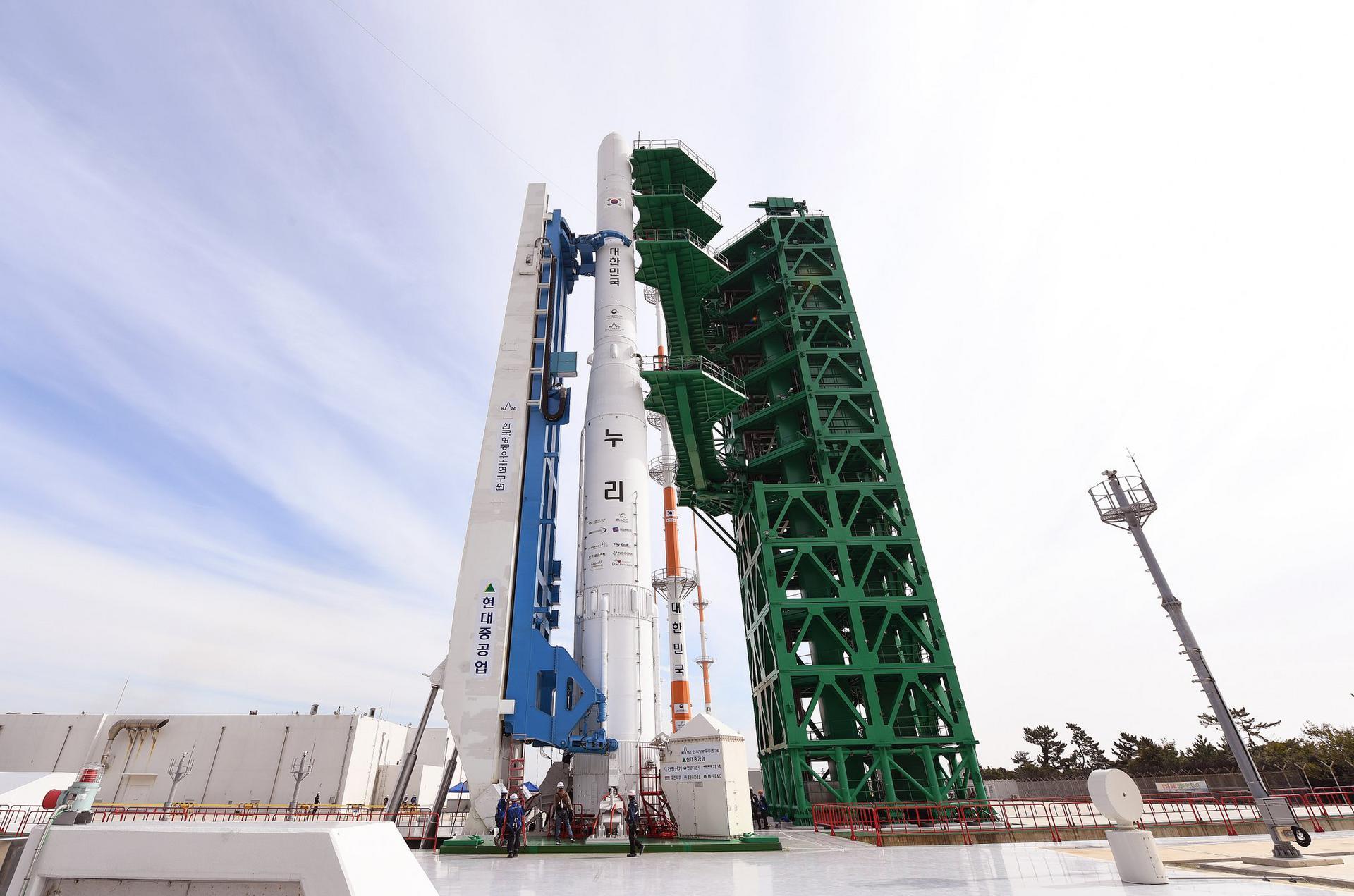 Південнокорейська ракета не змогла вивести вантаж на орбіту