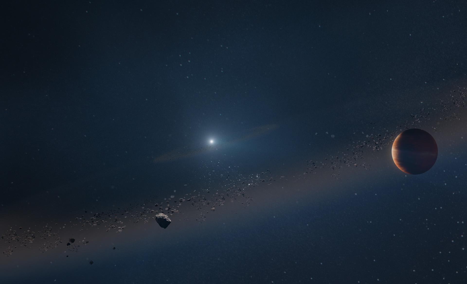Знайдена екзопланета, що пережила смерть своєї зорі